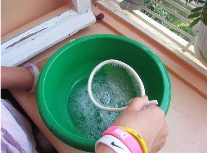 Как сделать мыльные пузыри дома из глицерина